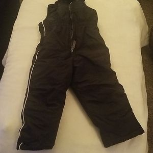 Black snow suit 2t